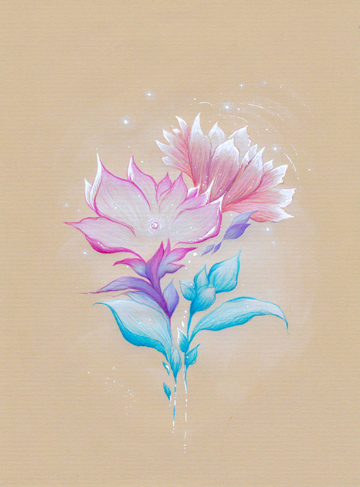 Abstract Flower No. 2 by Miastroeh