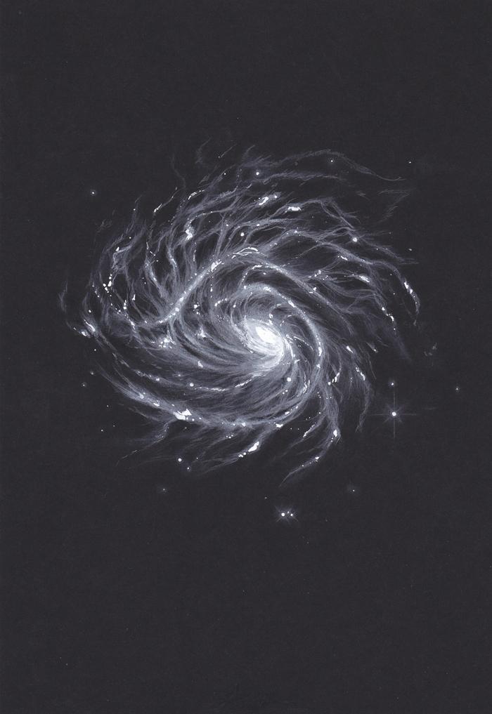 Galaxy Study No. 2 by Miastroeh