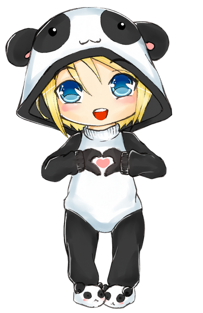 Chibi Panda by kommoyThyhiru on DeviantArt