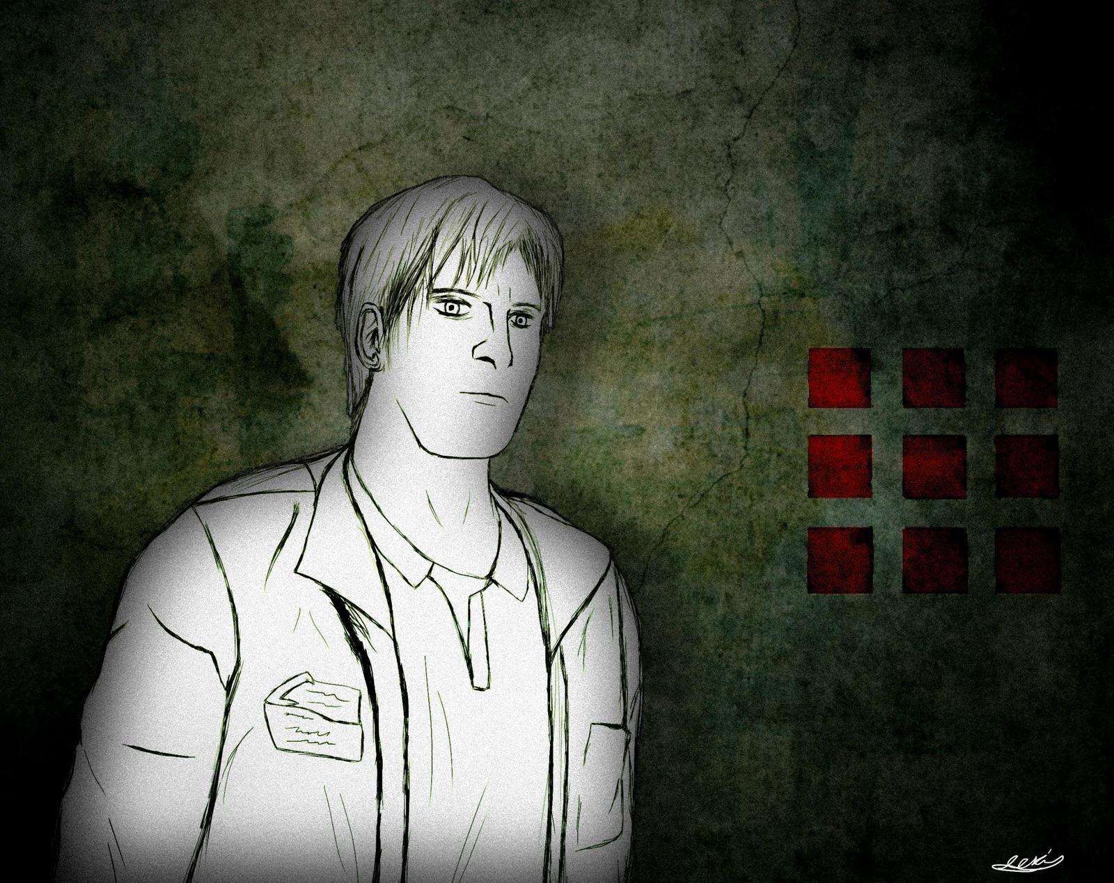 James Sunderland Silent Hill 2 By Apclevi On Deviantart
