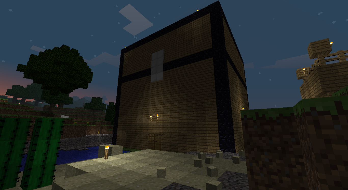 Making A Storage Chest In Minecraft