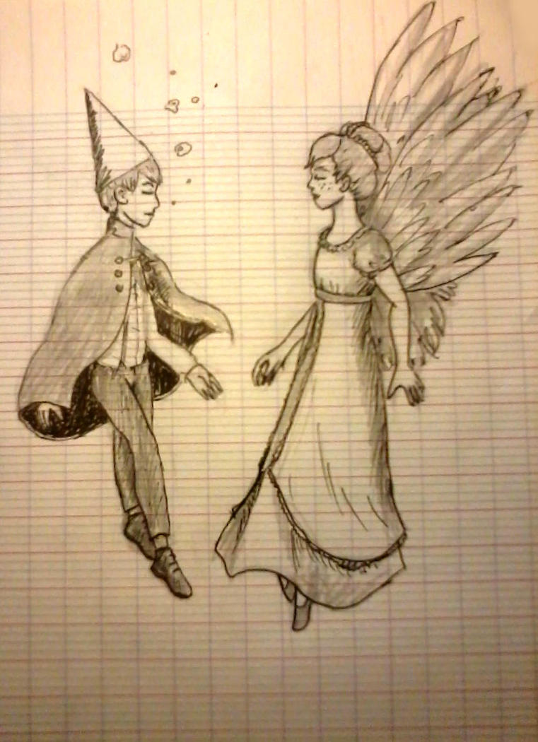Over the garden wall - Beatrice and Wirt by Raagane on DeviantArt