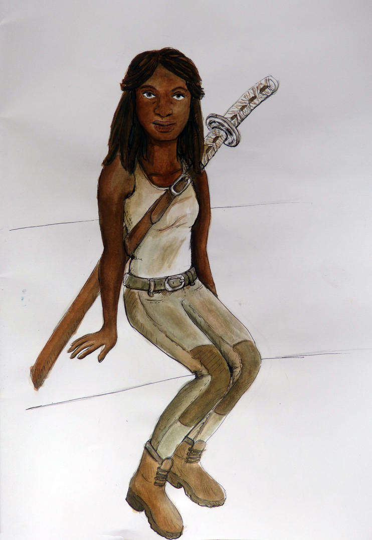Michonne by Raagane