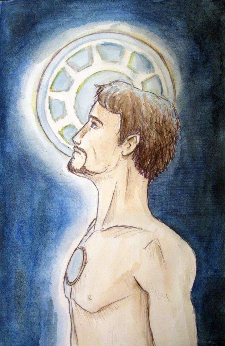Tony Stark by Raagane