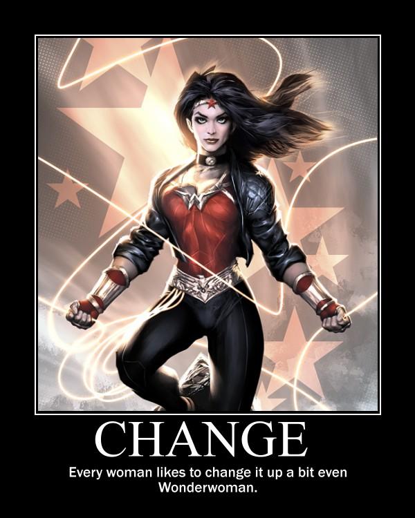 Wonderwoman Change