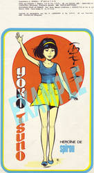 Yoko Tsuno - Spirou original introduction