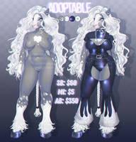 Adopt: Hot Goth Horse [OPEN] by noisykoala