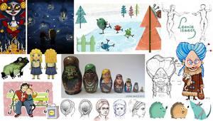 Artwork 2012 - 2015 by LeonieIsaacs
