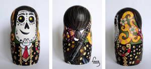 Manolo Sanchez Nesting Doll by LeonieIsaacs