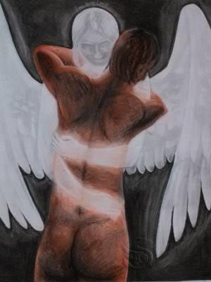 Imaginary Friend by WolfenAmphithere