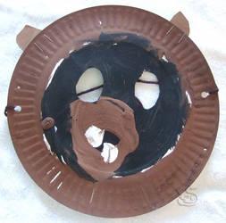 Bear Mask (Age 5) by WolfenAmphithere