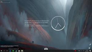 Unknown Planet - Simple Desktop Customization by darkopoppin