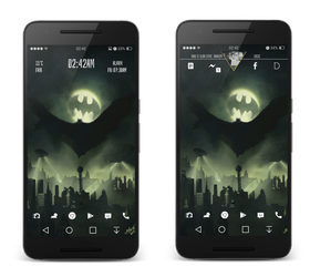 Batman - Android Homescreen by darkopoppin