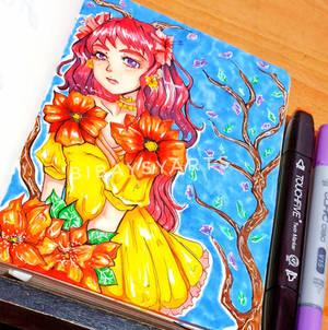 Flower girl (^^)()