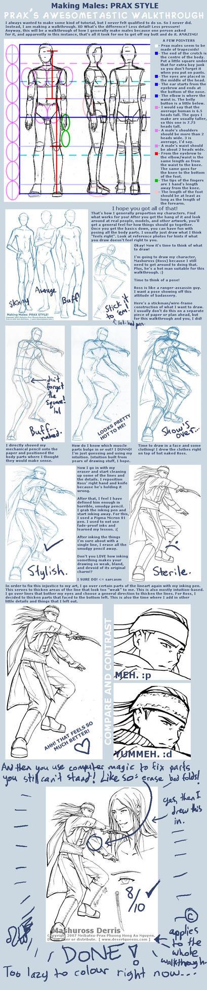Making Males... Walkthrough by Meibatsu