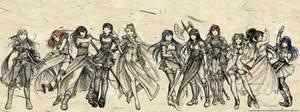 Fire Emblem Faves - Females