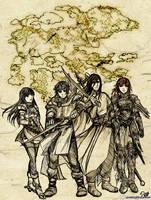 Fire Emblem Shadow Dragon by Meibatsu