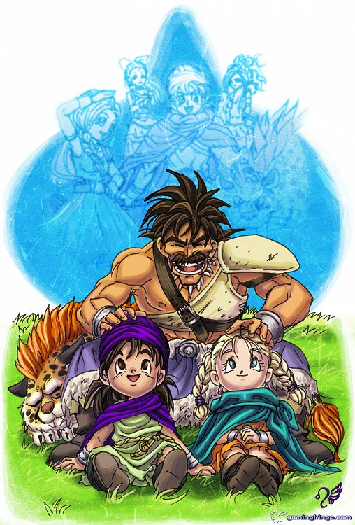Dragon Quest V - HotHB by Meibatsu