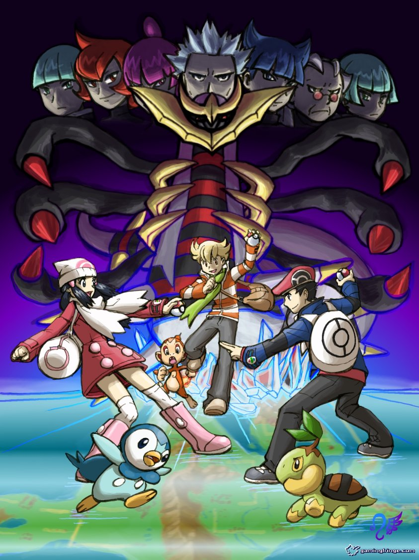 Pokemon platinum by meibatsu on deviantart - Pokemon platine evolution ...