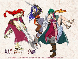 Fire Emblem 10 WIP by Meibatsu