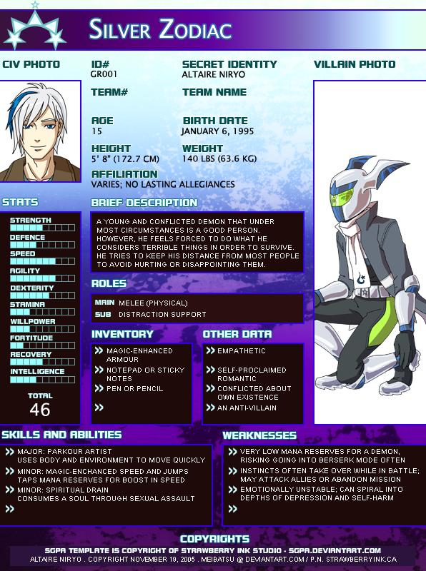 SGPA-YJ - Silver Zodiac by Meibatsu