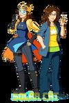Solar Cat - hero and civilian by Meibatsu