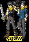 Crow - vigilante and prince by Meibatsu