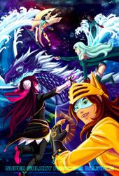 Super Galaxy Princess Alliance by Meibatsu