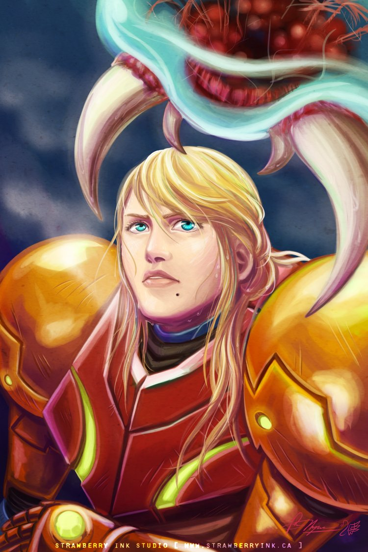 Bad Ass Metroid Fighter by Meibatsu