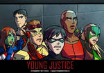 Young Justice Mission - Distortions - detail