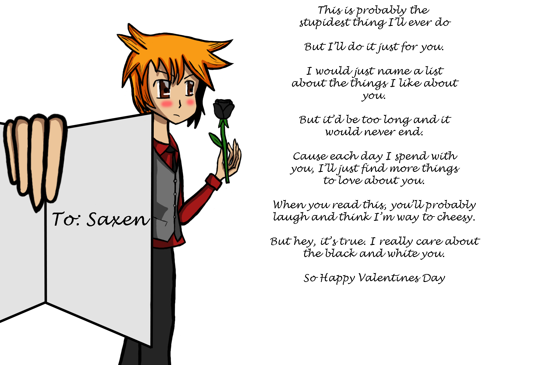 A Cheesy Poem for Saxen by Meibatsu