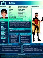 SGPA TEMPLATE with Robin - B01 by Meibatsu