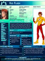 SGPA TEMPLATE with Kid Flash - B03 by Meibatsu