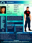SGPA TEMPLATE with Superboy - B04