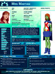 SGPA TEMPLATE with Miss Martian - B05