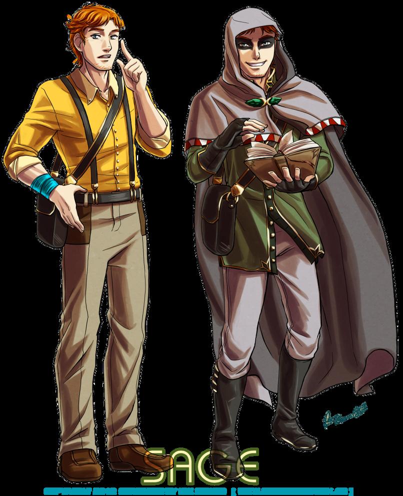 Sage - Scholar and Scavenger by Meibatsu