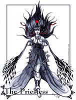 The Priestess by Meibatsu