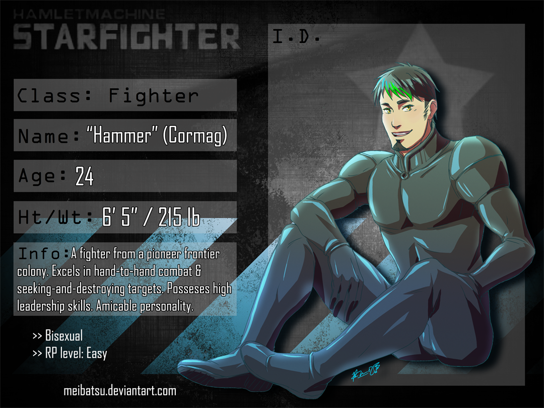 STARFIGHTER-RP FIGHTER: HAMMER by Meibatsu