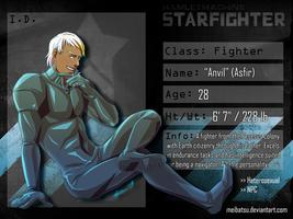 STARFIGHTER-RP NPC: ANVIL by Meibatsu