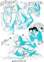 Team Blacksmith sketches 2 by Meibatsu