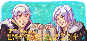 7th Annual Fire Emblem Club Gift Exchange 2014 by Meibatsu