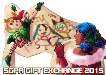 SGPA Gift Exchange 2015 by Meibatsu