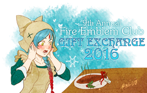 Fire Emblem Club Gift Exchange 2016 banner by Meibatsu