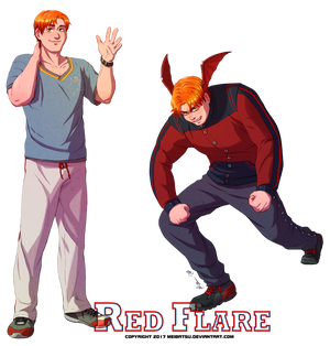 [S2] Red Flare - Hot-headed Hunk