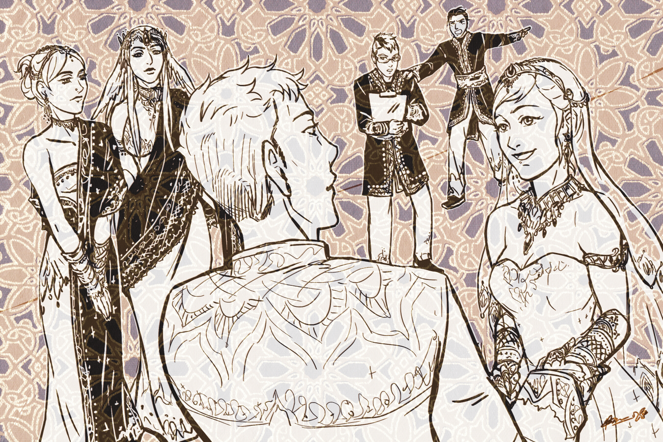 Wedding-ish! by Meibatsu