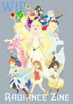Radiance Zine A4 Print WIP by Meibatsu