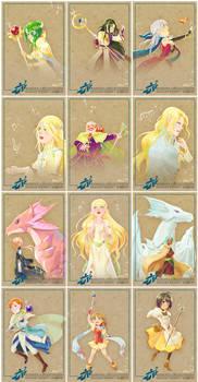 Radiance Zine Trading Cards