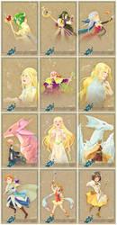 Radiance Zine Trading Cards by Meibatsu