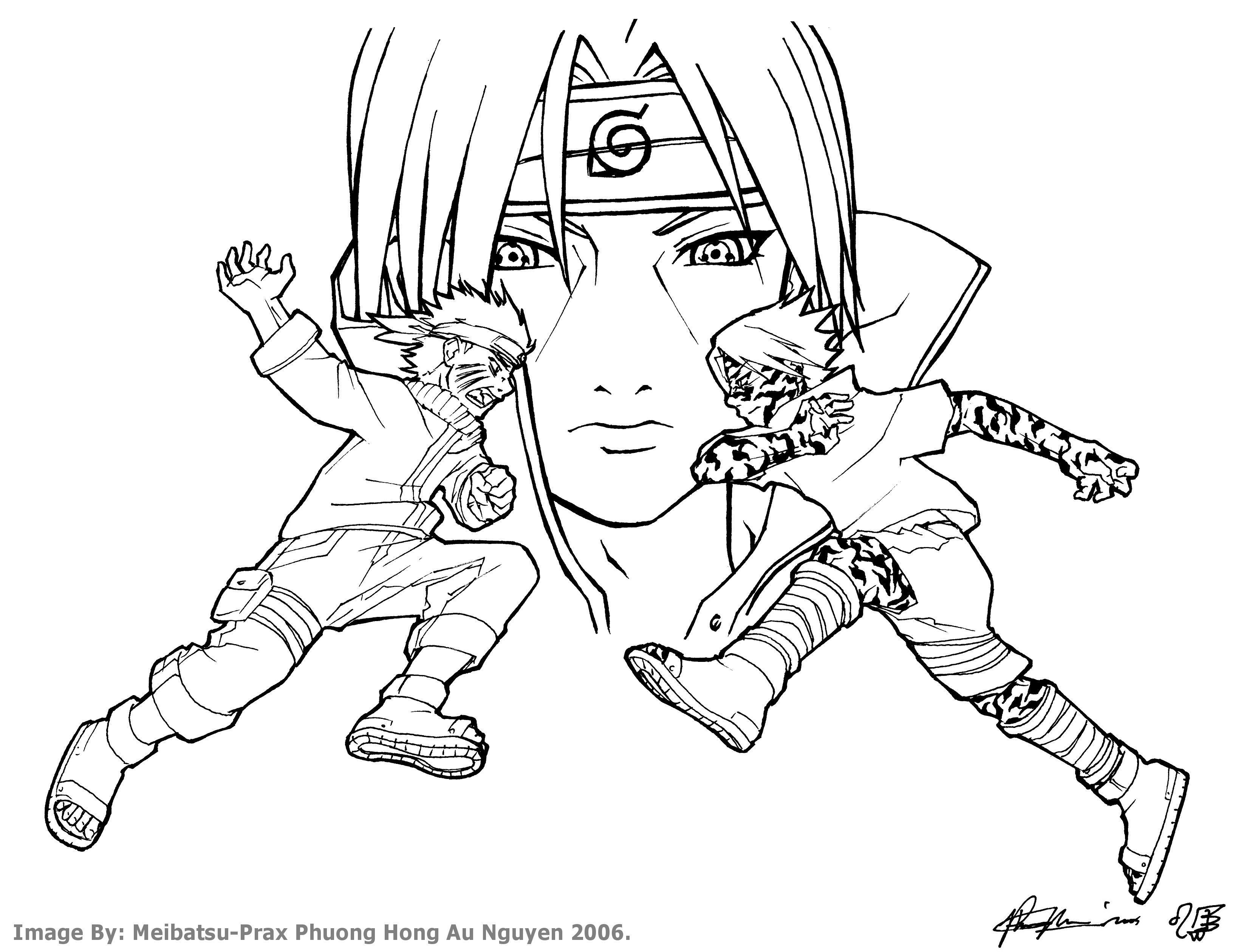 naruto vs sasuke w itachi bg by meibatsu on deviantart