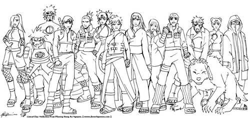 Naruto Movie friends by Meibatsu